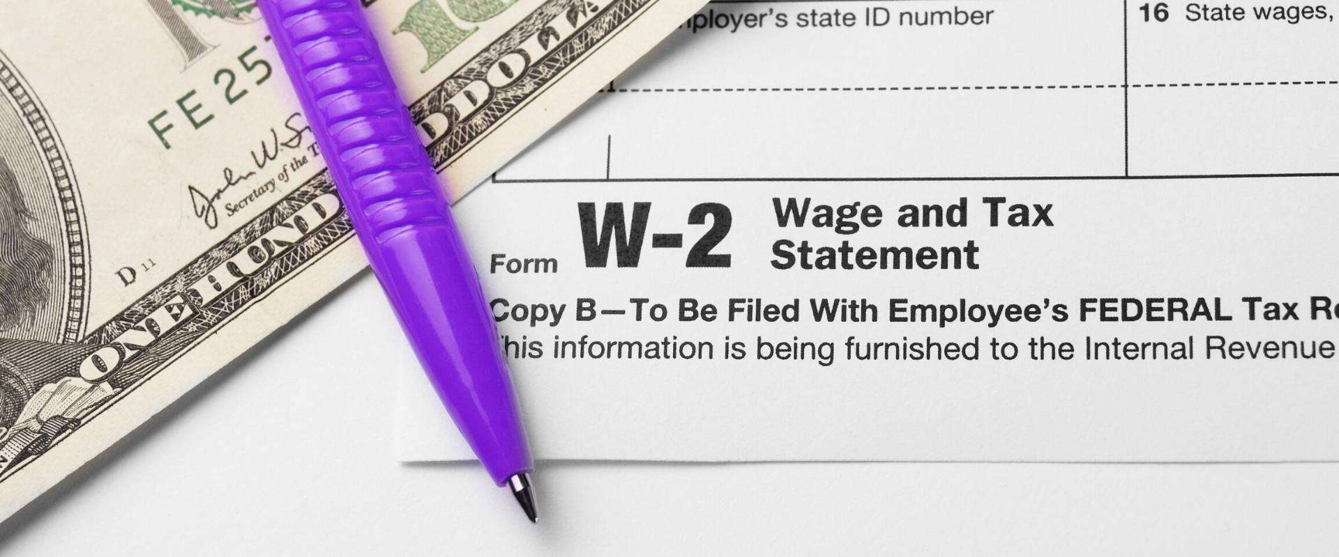 W-2 vs Last Pay Stub: What's the Difference?