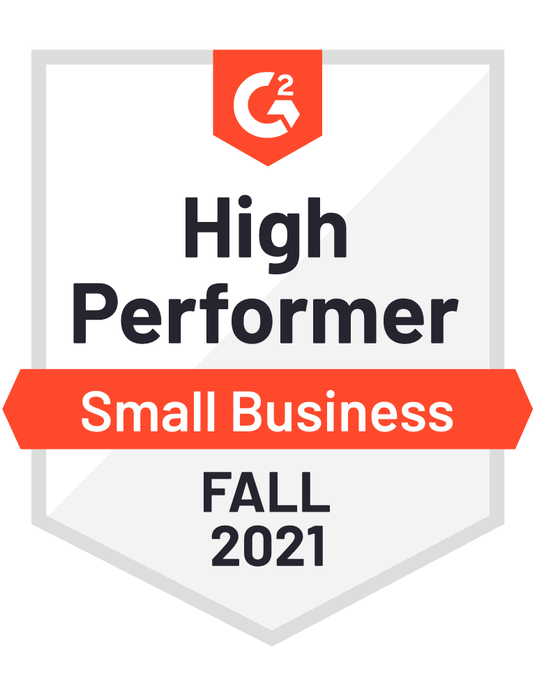 High Performer Small Business Fall 2021